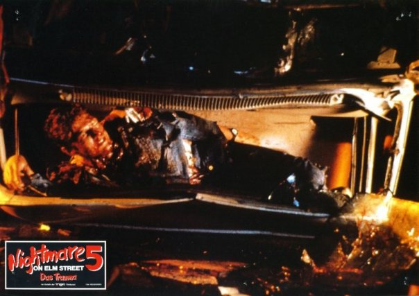 Nightmare on elm street 5: the dream child lobby cards gallery