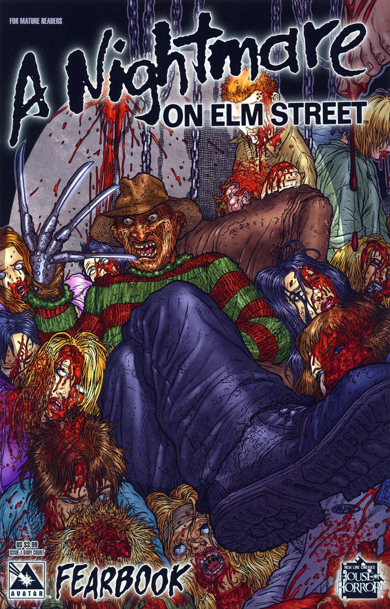 A Nightmare on Elm Street: Fearbook #1 (Body Count Cover)