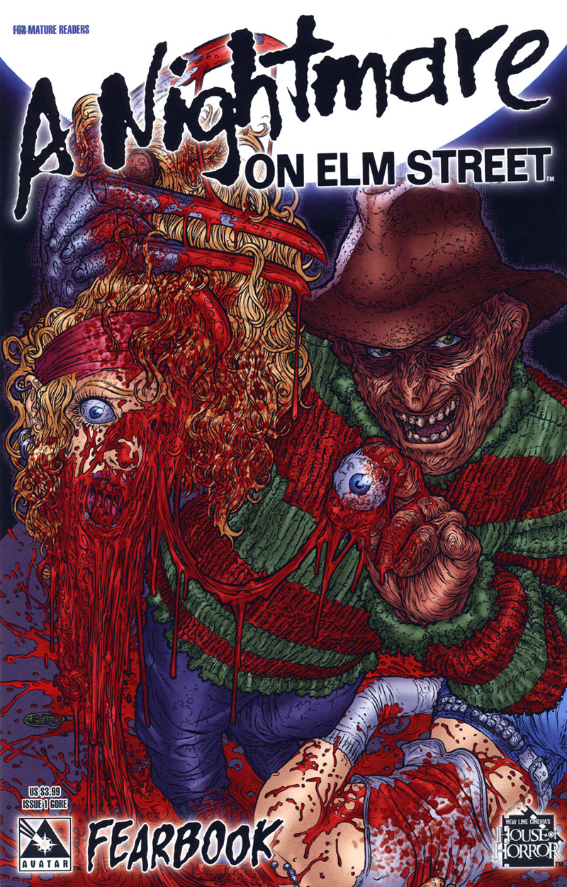 A Nightmare on Elm Street: Fearbook #1 (Gore Cover)