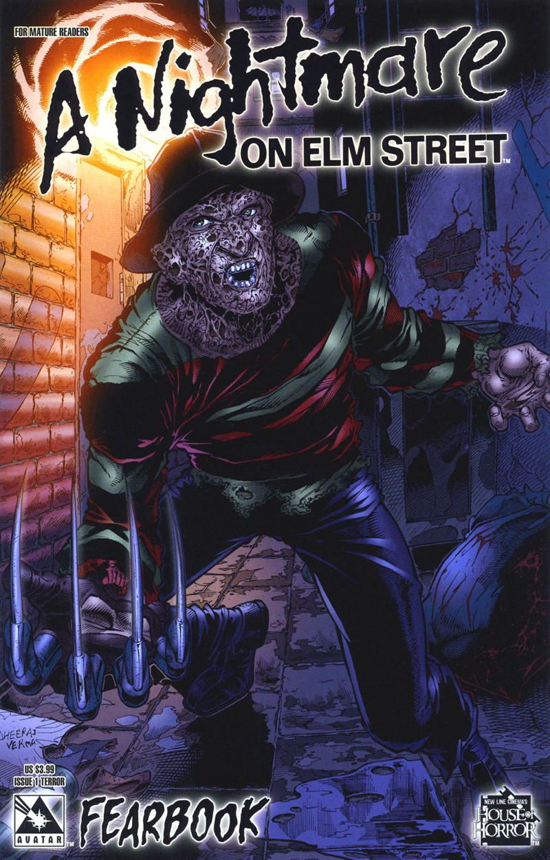 A Nightmare on Elm Street: Fearbook #1 (Terror Cover)