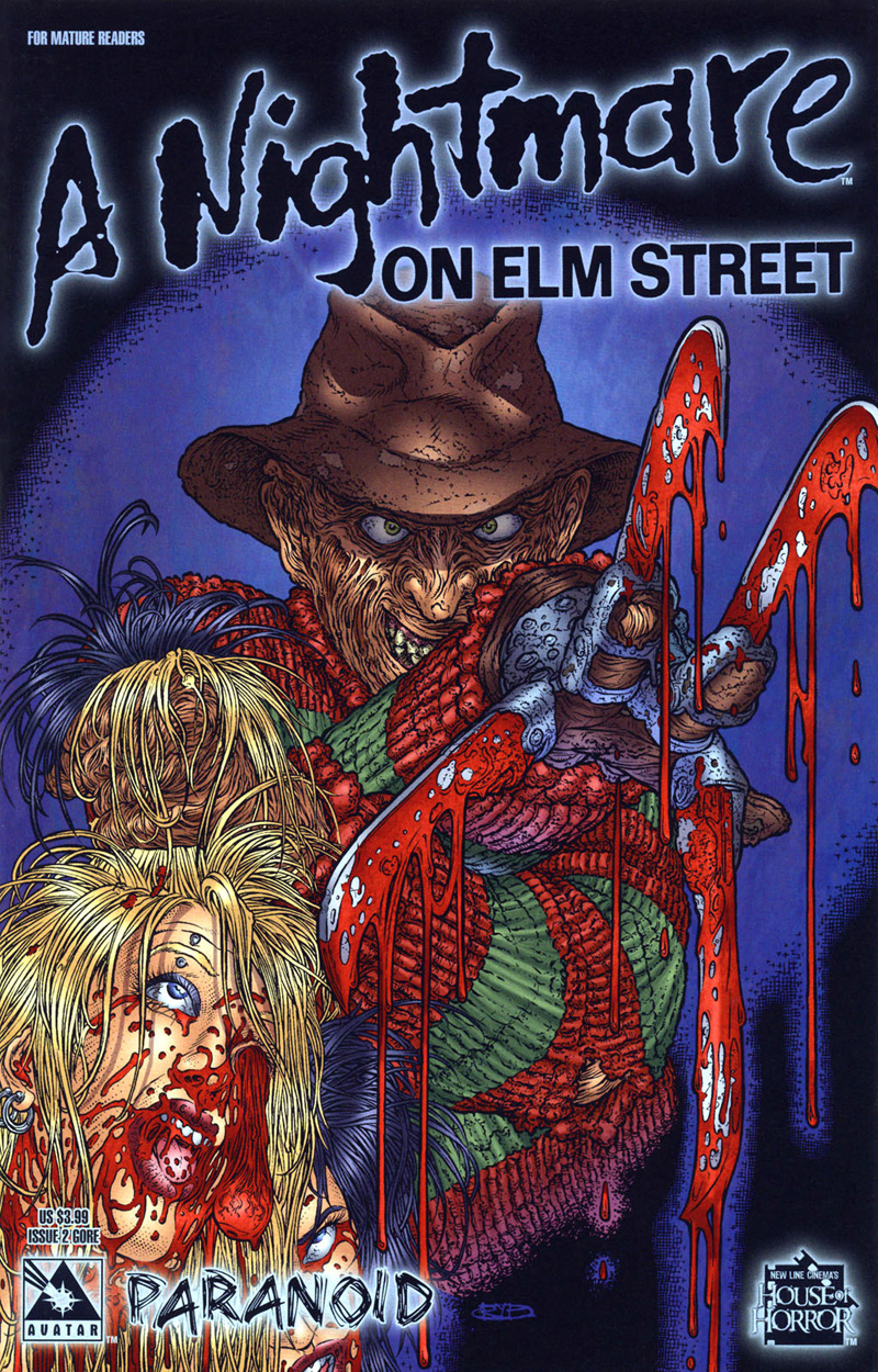 A Nightmare on Elm Street: Paranoid #2 (Gore Cover)