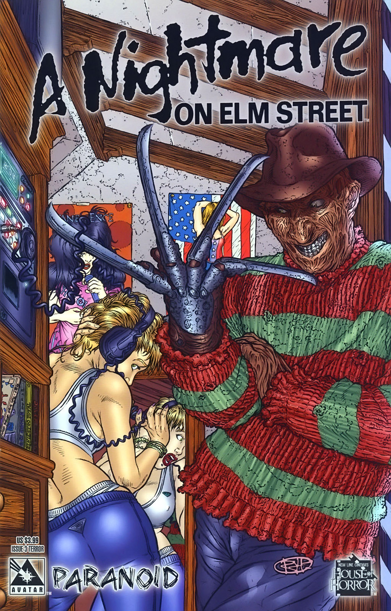 A Nightmare on Elm Street: Paranoid #3 (Terror Cover)