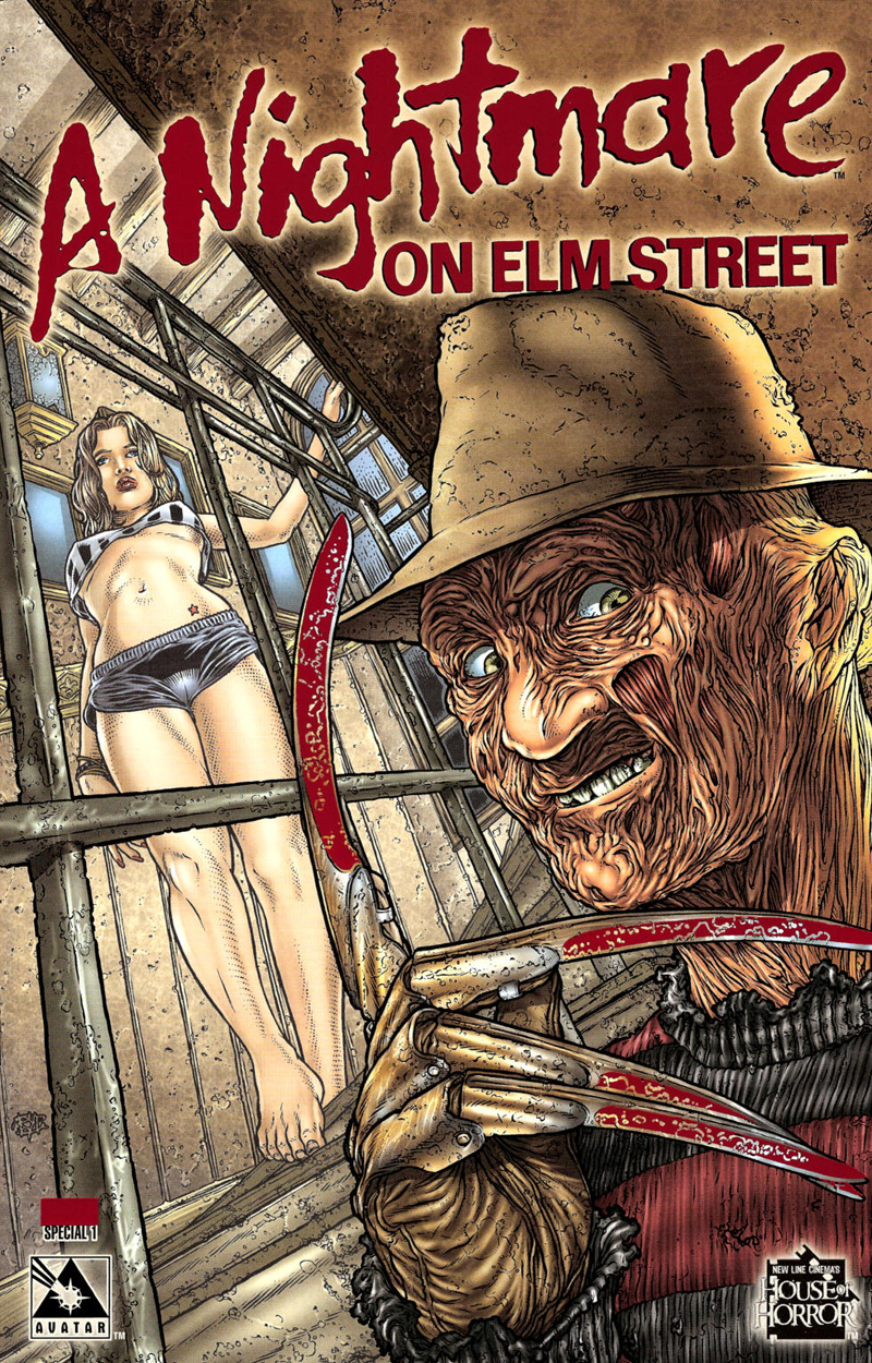 A Nightmare on Elm Street (Special) #1 (Blood Cover)