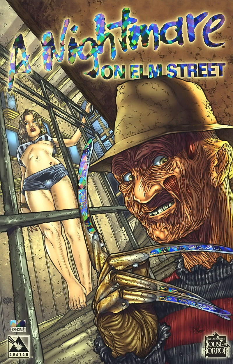 A Nightmare on Elm Street (Special) #1 (Platinum Cover)