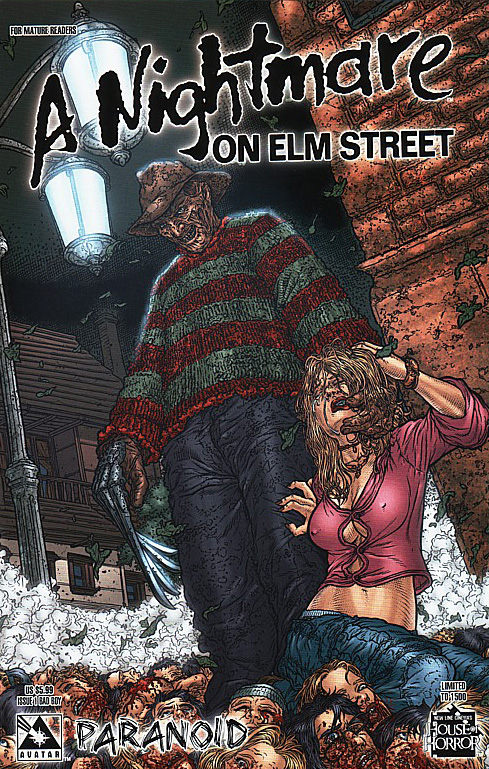 A Nightmare on Elm Street: Paranoid #1 (Bad Boy Cover)
