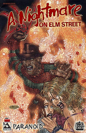 A Nightmare on Elm Street: Paranoid #1 (Blood Cover)