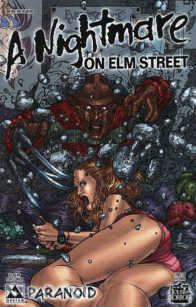 A Nightmare on Elm Street: Paranoid #1 (Shock Cover)