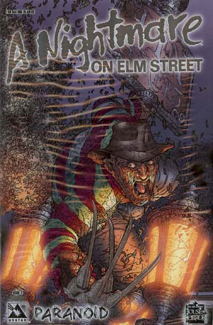 A Nightmare on Elm Street: Paranoid #1 (Platinum Cover)