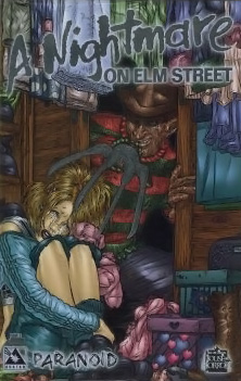 A Nightmare on Elm Street: Paranoid #3 (Platinum Cover)