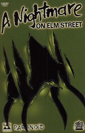 A Nightmare on Elm Street: Paranoid #3 (Die-Cut Cover)
