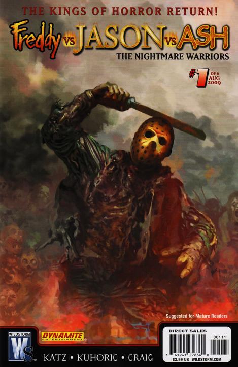 Freddy vs. Jason vs. Ash: The Nightmare Warriors #1