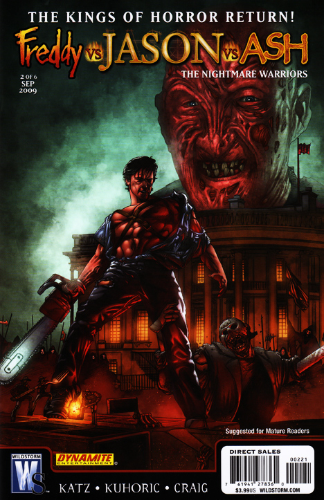 Freddy vs. Jason vs. Ash: The Nightmare Warriors #2