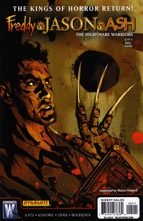 Freddy vs. Jason vs. Ash: The Nightmare Warriors #5