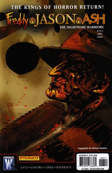Freddy vs. Jason vs. Ash: The Nightmare Warriors #6