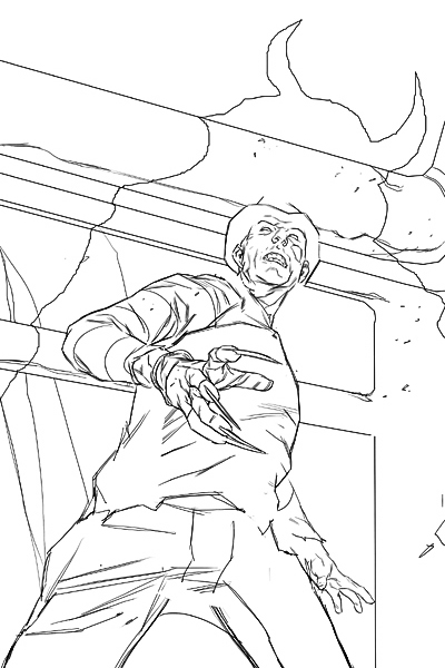 Freddy Vs Jason Coloring Pages Dsc Combo Voorhees And Freddy Vs Jason Coloring Pages