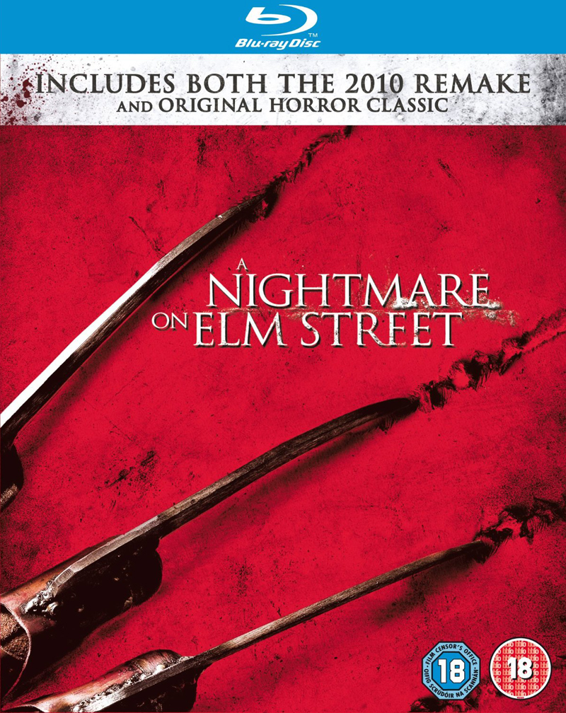 A Nightmare on Elm Street 1984 Original and 2010 Remake Blu-ray Bundle (UK)