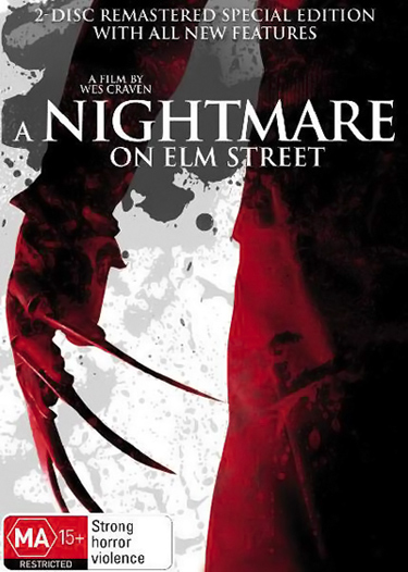 A Nightmare on Elm Street Infinifilm Edition DVD (Australia)