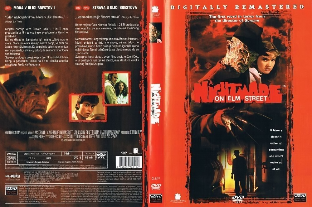 A Nightmare on Elm Street DVD (Croatia)