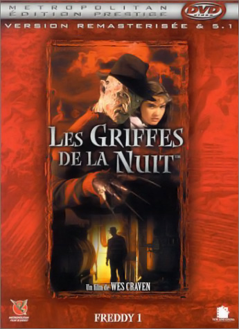 A Nightmare on Elm Street DVD (France)
