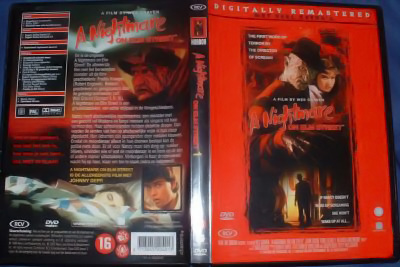 A Nightmare on Elm Street DVD (Netherlands)