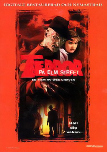 A Nightmare on Elm Street DVD (Sweden)