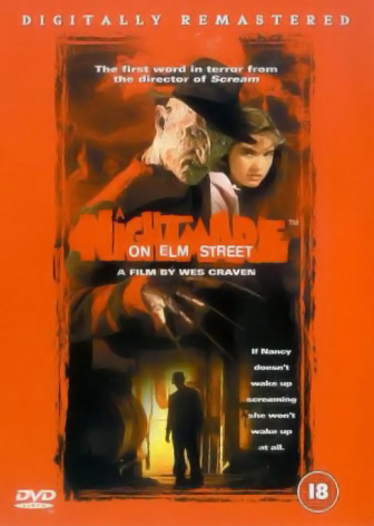 A Nightmare on Elm Street DVD (UK)
