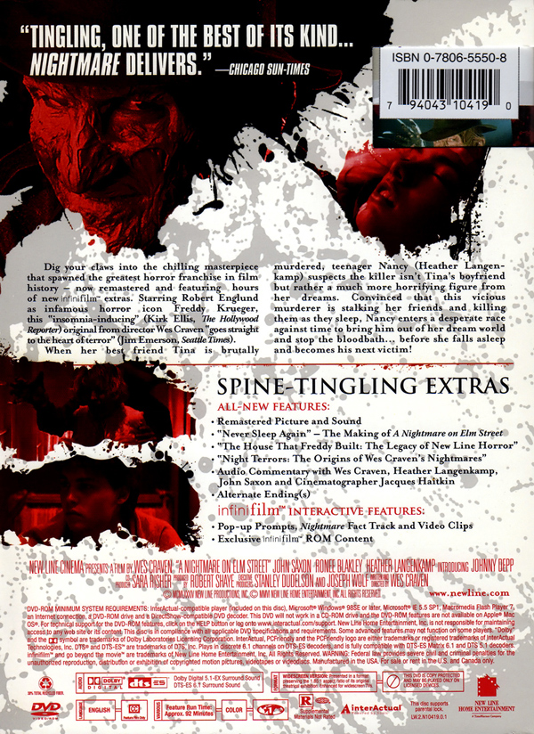 nightmare on elm street essays Essays, interviews and other features for trash, cult and horror movies  this is the homo nightmare on elm street after all  sequel in the very.