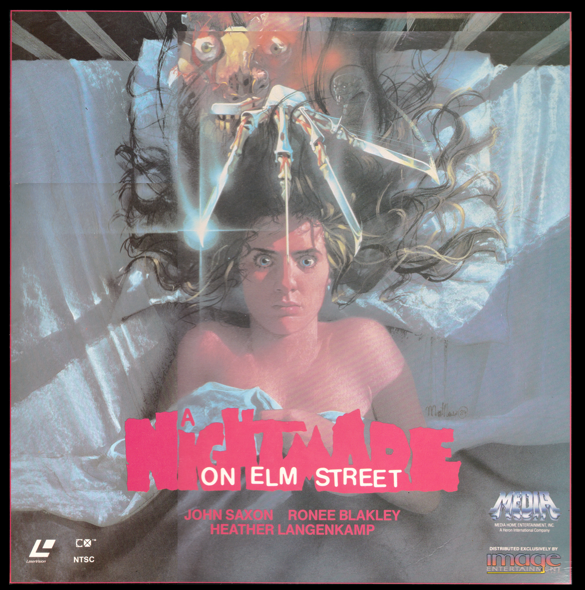 A Nightmare on Elm Street Laserdisc
