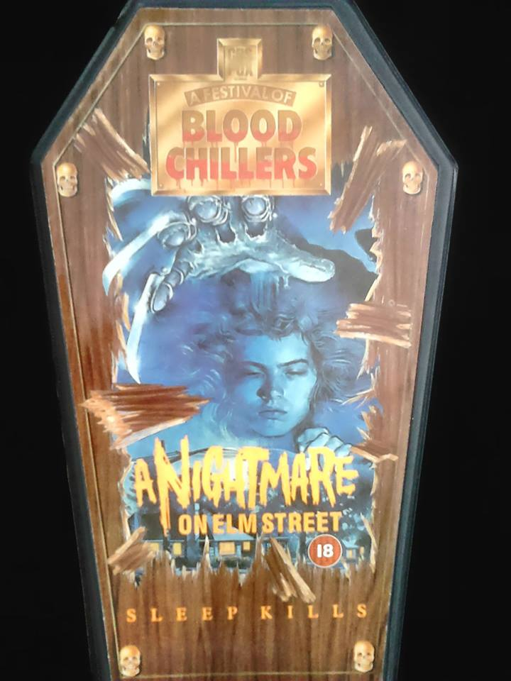 A Nightmare on Elm Street VHS Coffin Box (UK)