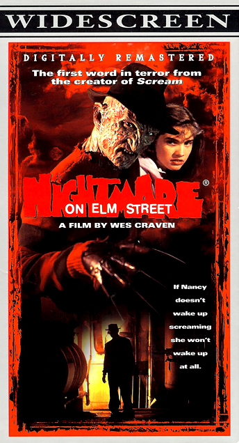 A Nightmare on Elm Street Remastered VHS