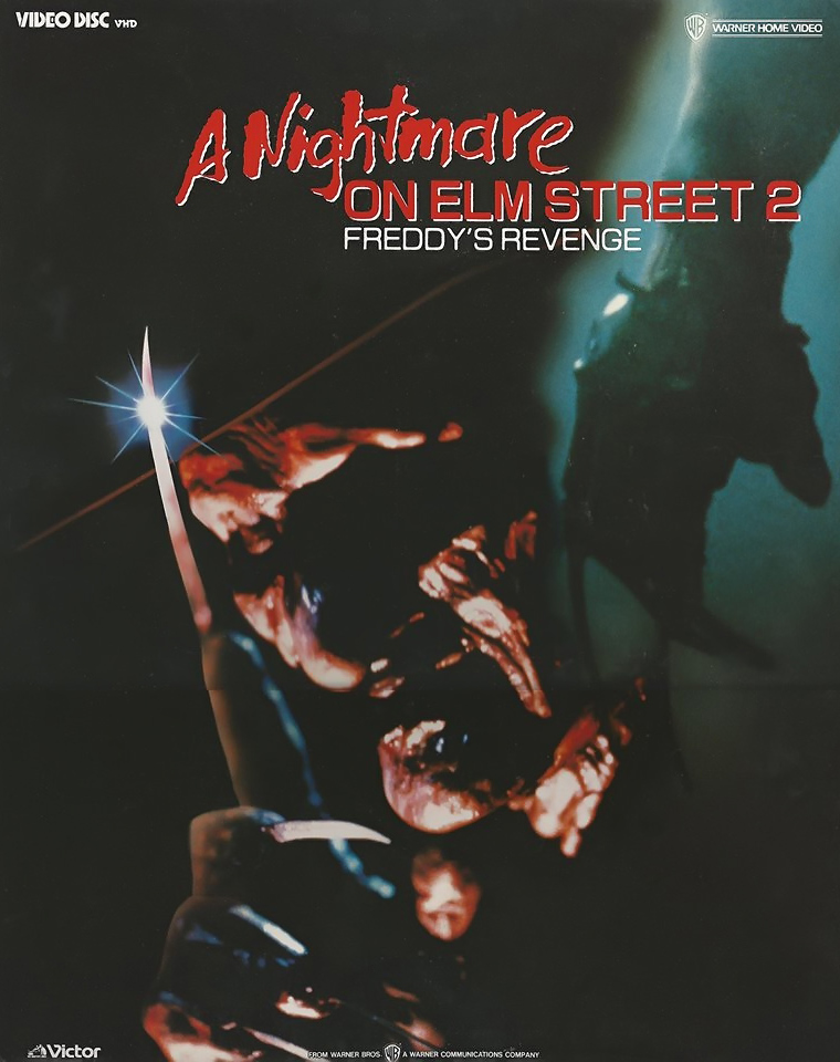 A Nightmare on Elm Street 2: Freddy's Revenge VHD