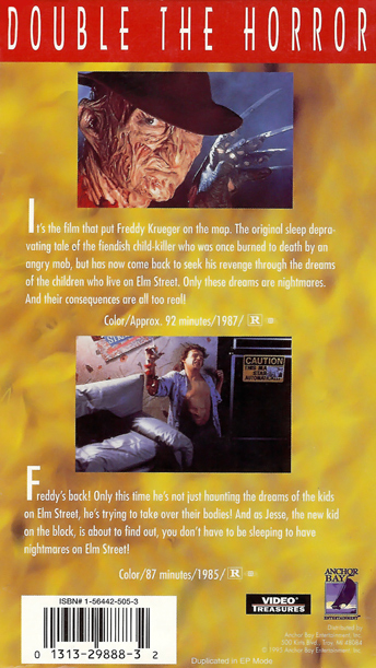 Double the Horror: A Nightmare on Elm Street/A Nightmare on Elm Street 2: Freddy's Revenge