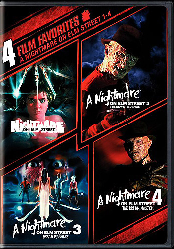 4 Film Favorites: A Nightmare on Elm Street 1-4
