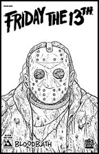 Friday the 13th: Bloodbath #1 (Leather Cover)