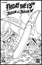 Friday the 13th: Jason vs. Jason X #2 (Nano-Steel Cover)