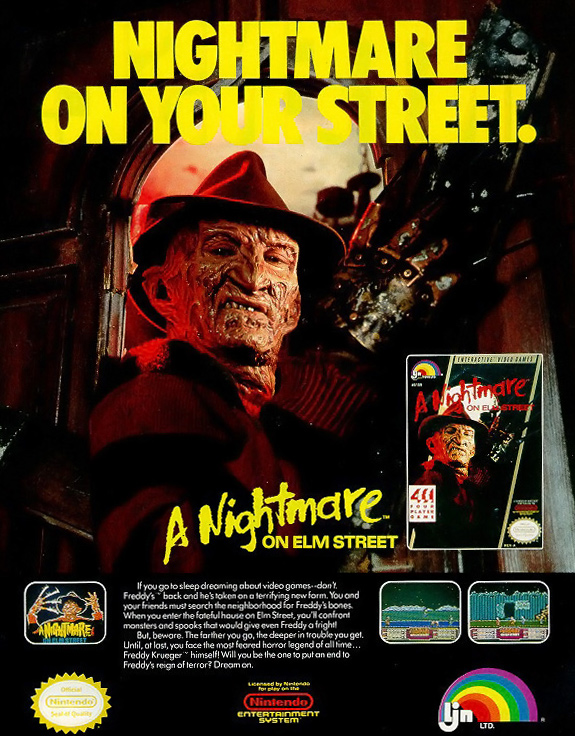 A Nightmare on Elm Street Retail Ad