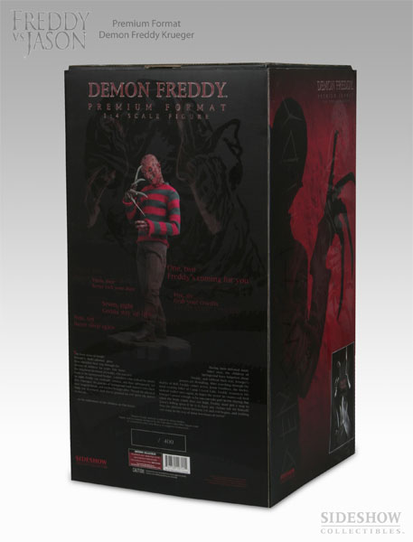 Demon Freddy Toys : A nightmare on elm street figures
