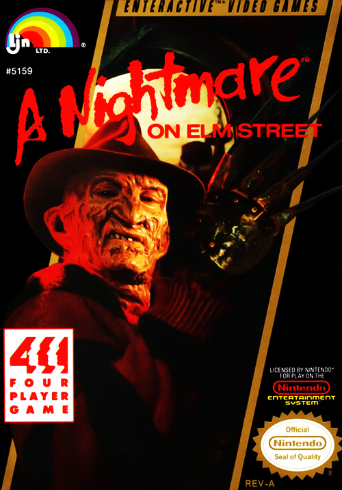 A Nightmare on Elm Street for the Nintendo Entertainment System (NES)