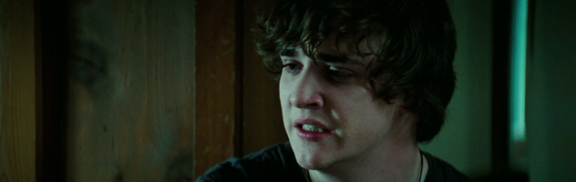 "KYLE GALLNER as Quentin in New Line Cinemas' horror film, ""A Nightmare on Elm Street,"" distributed by Warner Bros. Pictures."