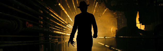 "JACKIE EARLE HALEY as Freddy Krueger in New Line Cinemas' horror film, ""A Nightmare on Elm Street,"" distributed by Warner Bros. Pictures."