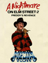 A Nightmare on Elm Street 2: Freddy's Revenge VHS Sticker Ad