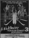 A Nightmare on Elm Street 3: Dream Warriors Newspaper Ad