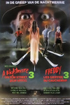 A Nightmare on Elm Street 3: Dream Warriors Belgium Movie Poster