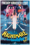 A Nightmare on Elm Street 3: Dream Warriors Germany Movie Poster