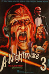 A Nightmare on Elm Street 3: Dream Warriors Pakistan Movie Poster