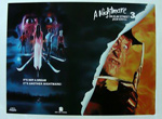 A Nightmare on Elm Street 3: Dream Warriors VHS Promo Poster