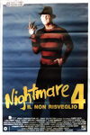 A Nightmare on Elm Street 4: The Dream Master Italy Movie Poster