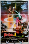 A Nightmare on Elm Street 4: The Dream Master Thailand Movie Poster