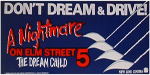 A Nightmare on Elm Street 5: The Dream Child VHS Banner
