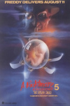 A Nightmare on Elm Street 5: The Dream Child Advance Movie Poster